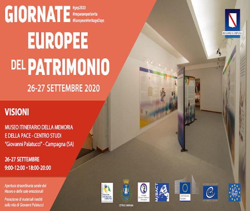 Al Museo Palatucci le Giornate Europee del Patrimonio