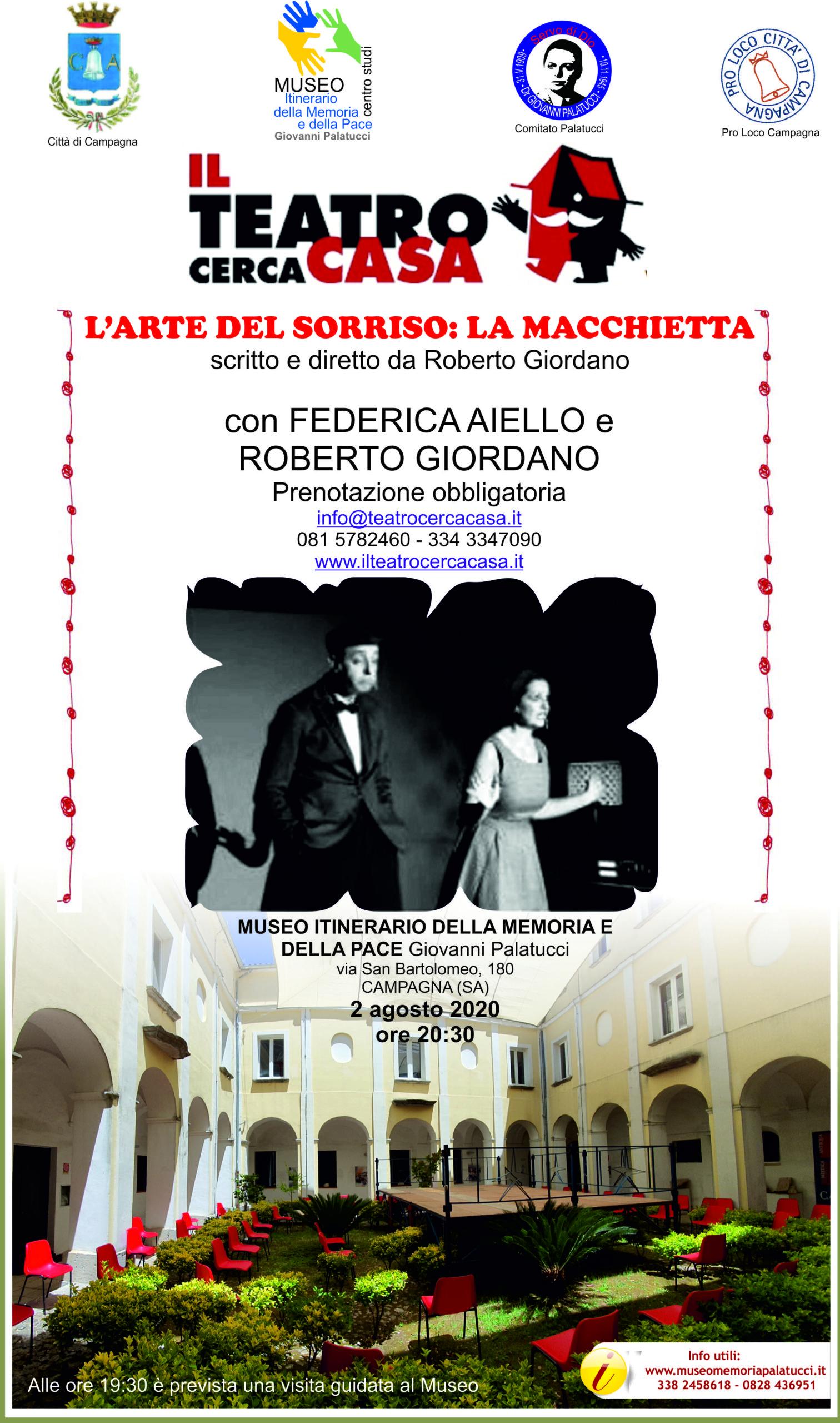 """Il Teatro Cerca Casa presenta al Museo """"L'arte del sorriso: La macchietta"""""""
