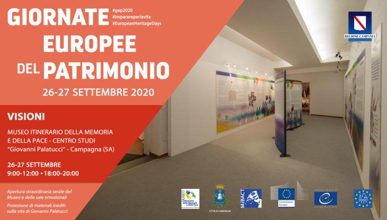 Giornata Europea del Patrimonio – 26 e 27 settembre 2020