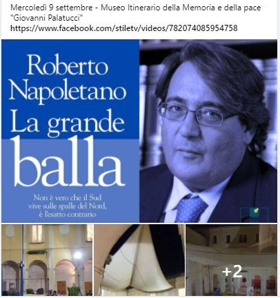 """Presentazione del Libro di Roberto Napolitano """"La grande balla"""""""