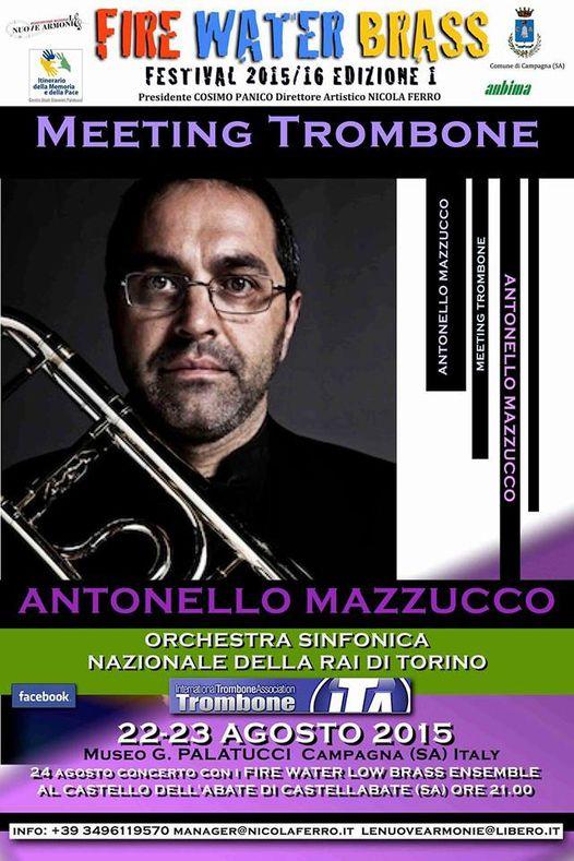 Meeting di Trombone – 22 e 23 agosto 2015