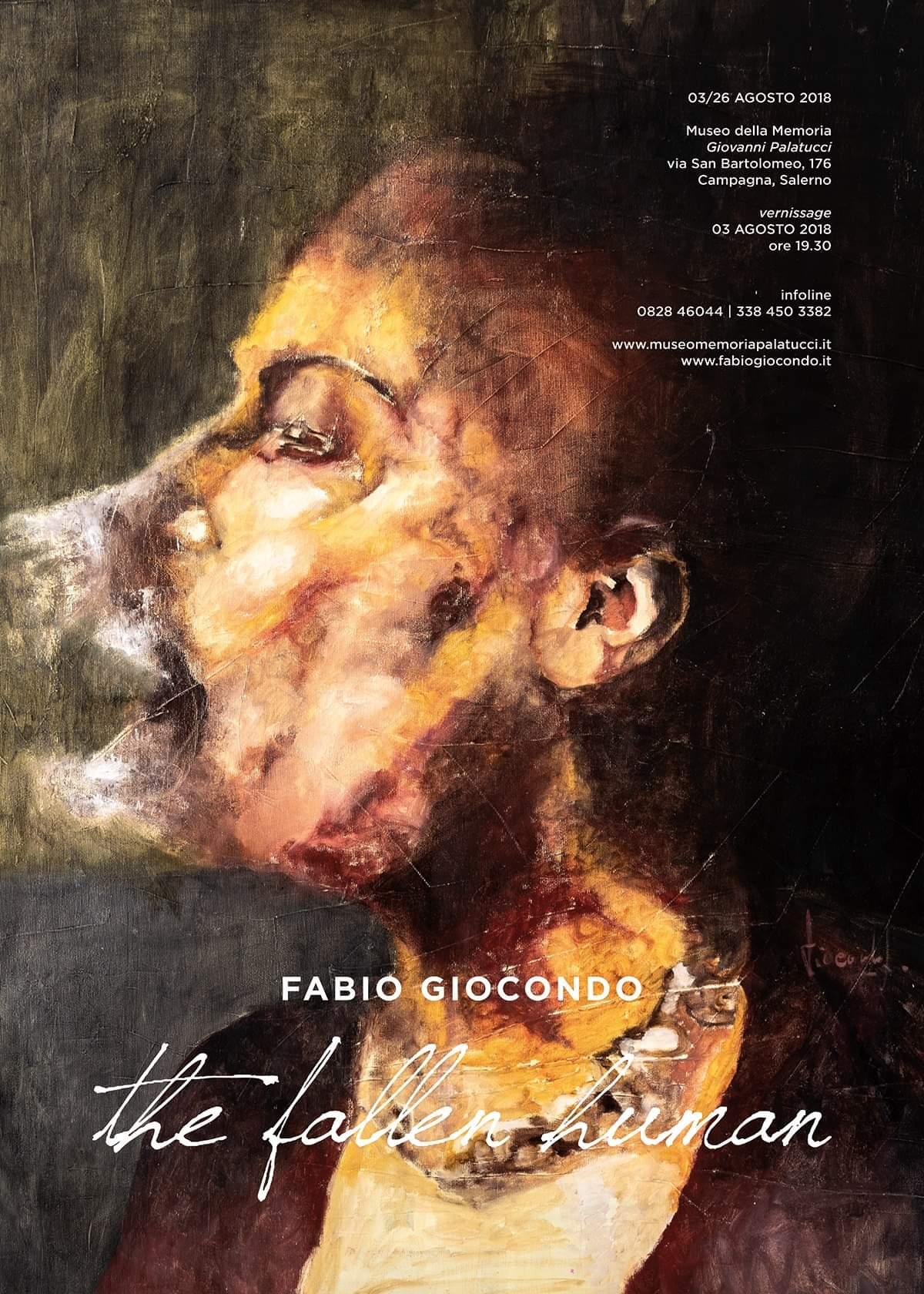 Mostra d'Arte: The Fallen Human – 3 agosto/30 settembre 2018