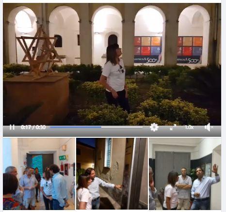 Mariella Nava in visita al Museo – 15 agosto 2019